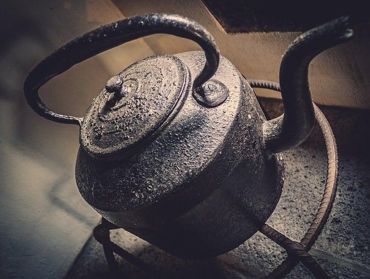 stylish tea kettle