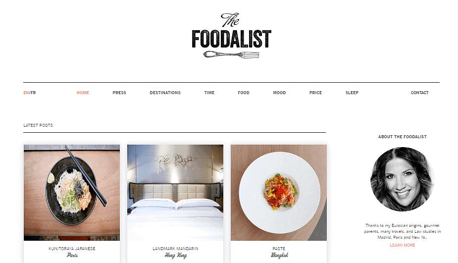 Foodalist