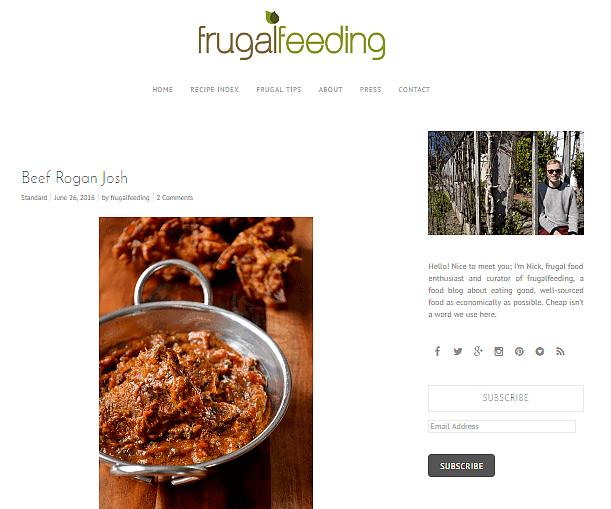 Frugal Feeding