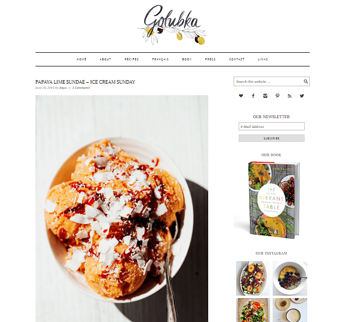best-food-blogs-Golubka Kitchen