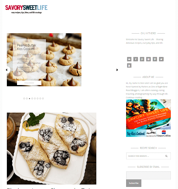 best-food-blogs-Savory sweet life