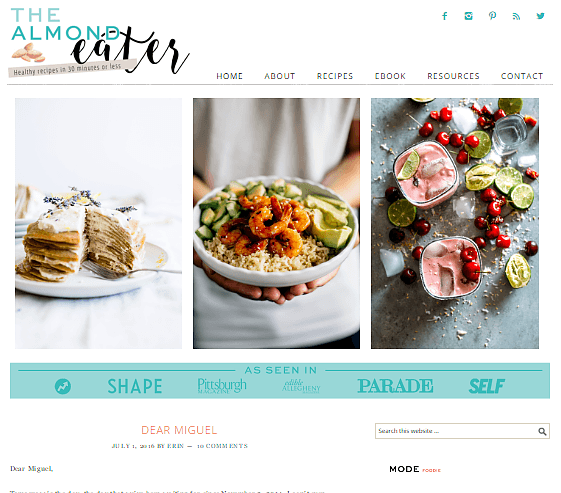 68 best food blogs for foodies to follow right now august 2018 best food blogs the almond eater forumfinder Gallery
