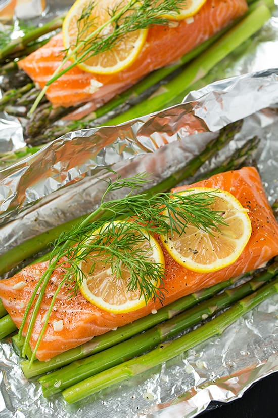 Reheat Refrigerated Cooked Salmon