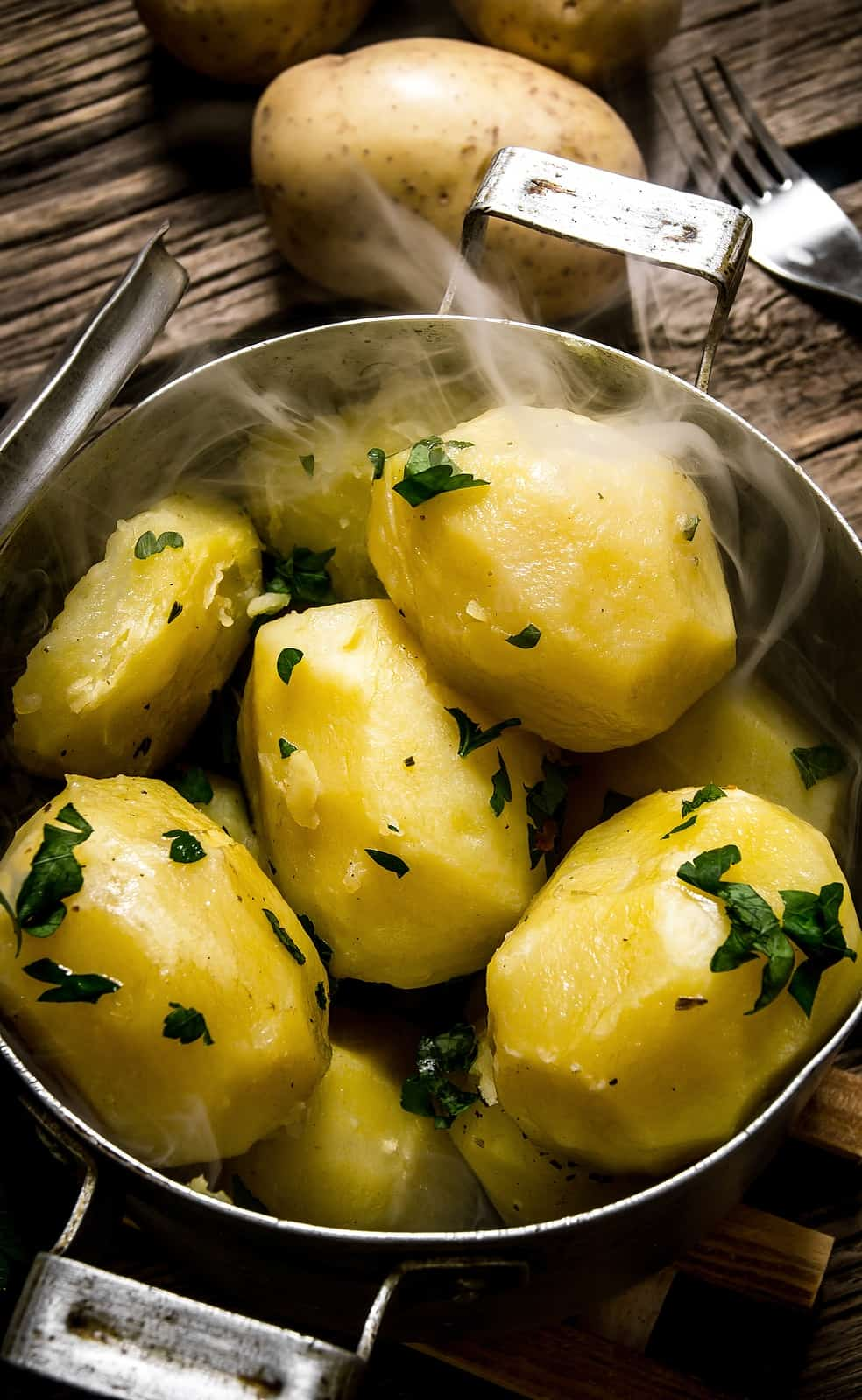 potatoes-steaming