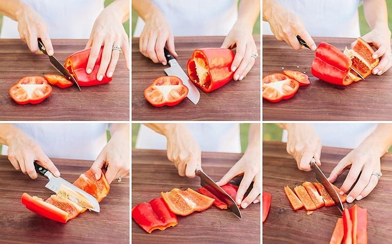 how-to-store-peppers-slicing