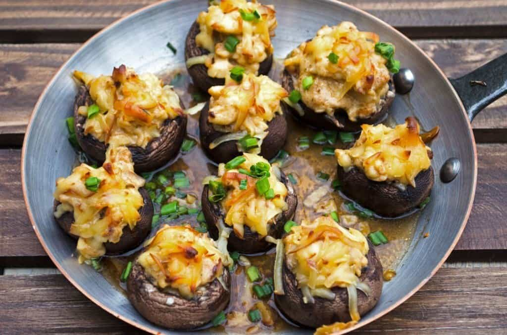 How to freeze stuffed mushrooms