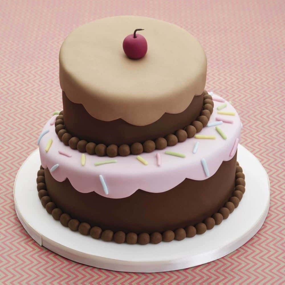 TIps for topsy turvy cake