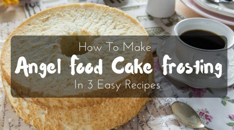 angel food cake frosting