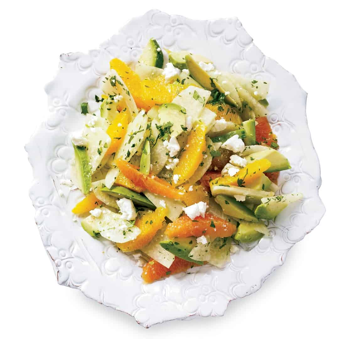 Avocado, Orange, and Jicama Salad