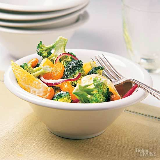 Mango-Broccoli Salad