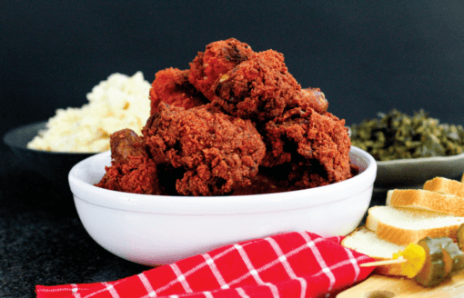 Flamin Red Fried Chicken