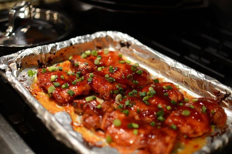 Asian Style Baked Chicken