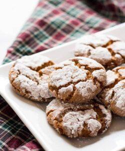 Crisp Peanut Butter Crinkle Cookies