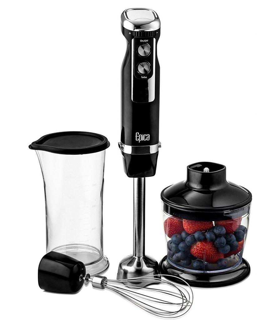 Epica 4-in 1 Immersion Hand Blender