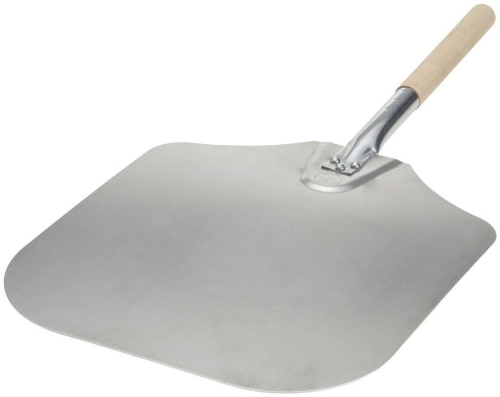 Kitchen Supply 14 Inch x 16 Inch Aluminum Pizza Peel
