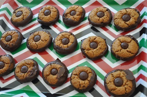 Real Healthy Peanut Butter Cookies