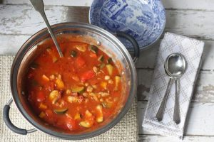 Chunky Paprika Chicken And Vegetable Pot