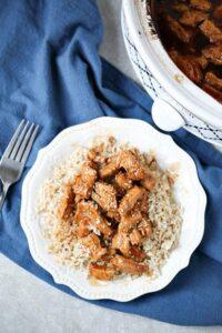 Easy Slow Cooker Chicken Teriyaki