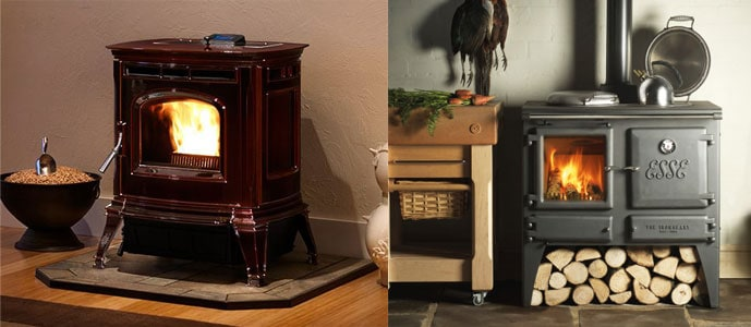 What is Pellet Stove? Wood Stove?