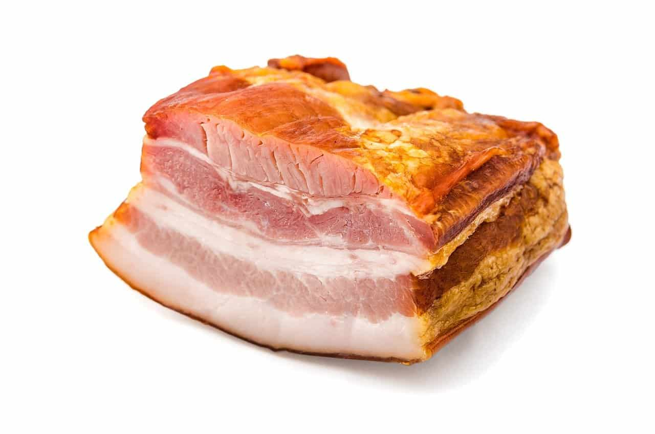 How long can raw bacon sit out