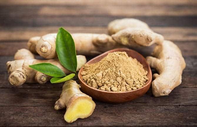Horseradish Substitutes, Ginger